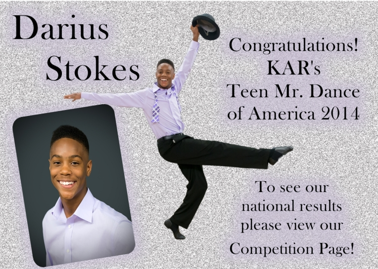 Darious Teen Mr. Dance 2014