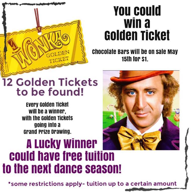 golden ticket contest